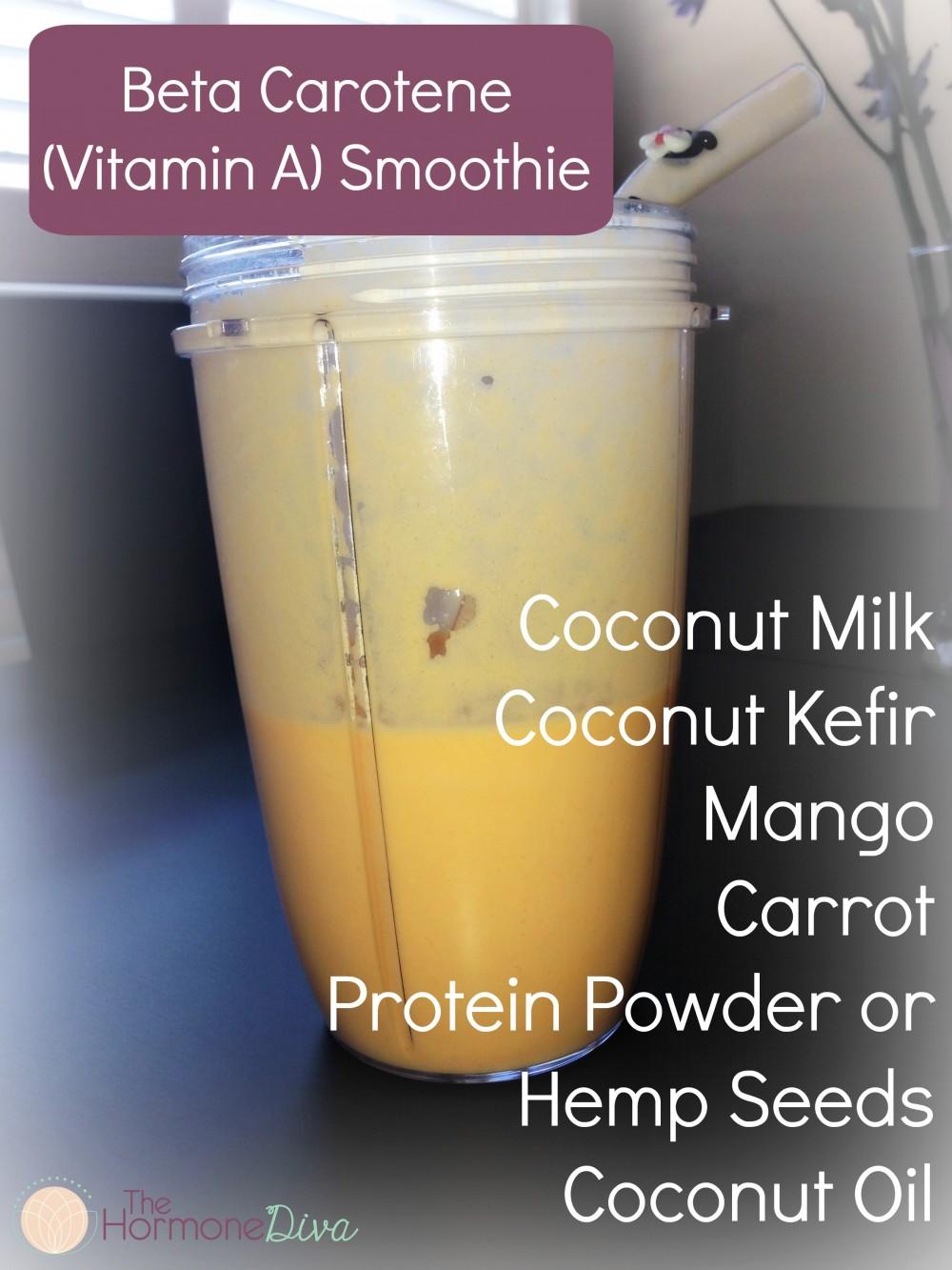 Vitamin A Smoothie