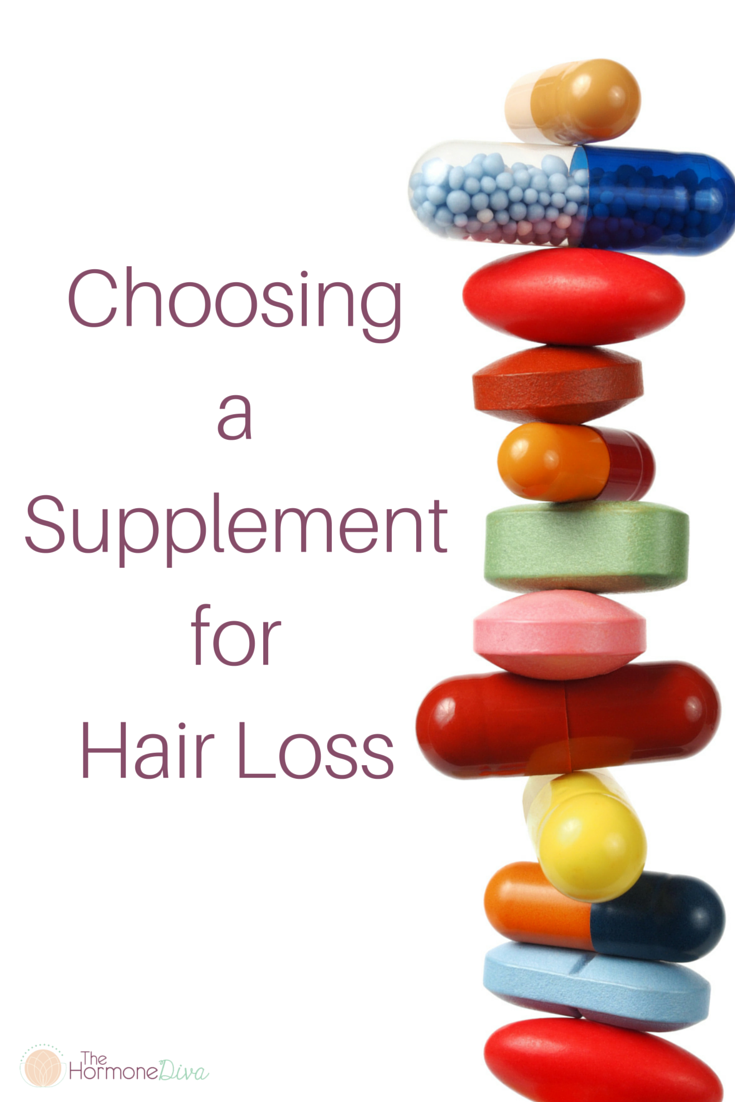 Choosing a Supplement for Hair Loss
