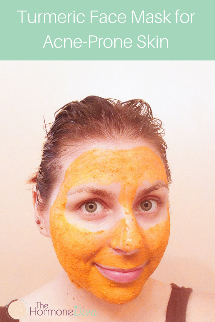 Turmeric Face Mask for Acne-Prone Skin | The Hormone Diva