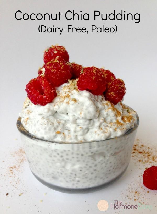 Coconut Chia Pudding (Dairy-Free, Paleo)   The Hormone Diva