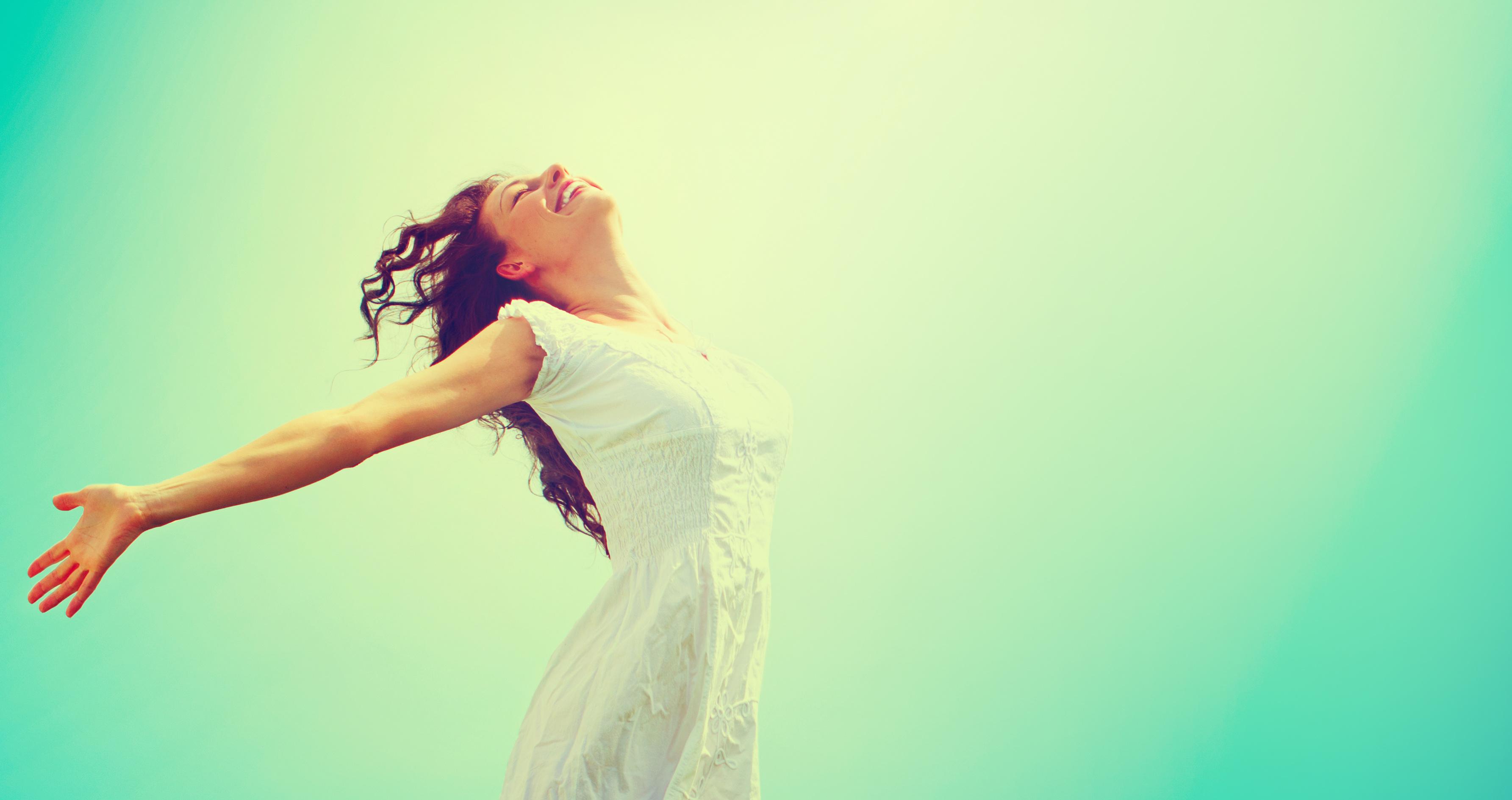 The Hormone Diva Free Happy Woman Enjoying Nature