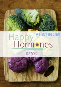 happy hormones detox PLATINUM GRAPHIC POSTER