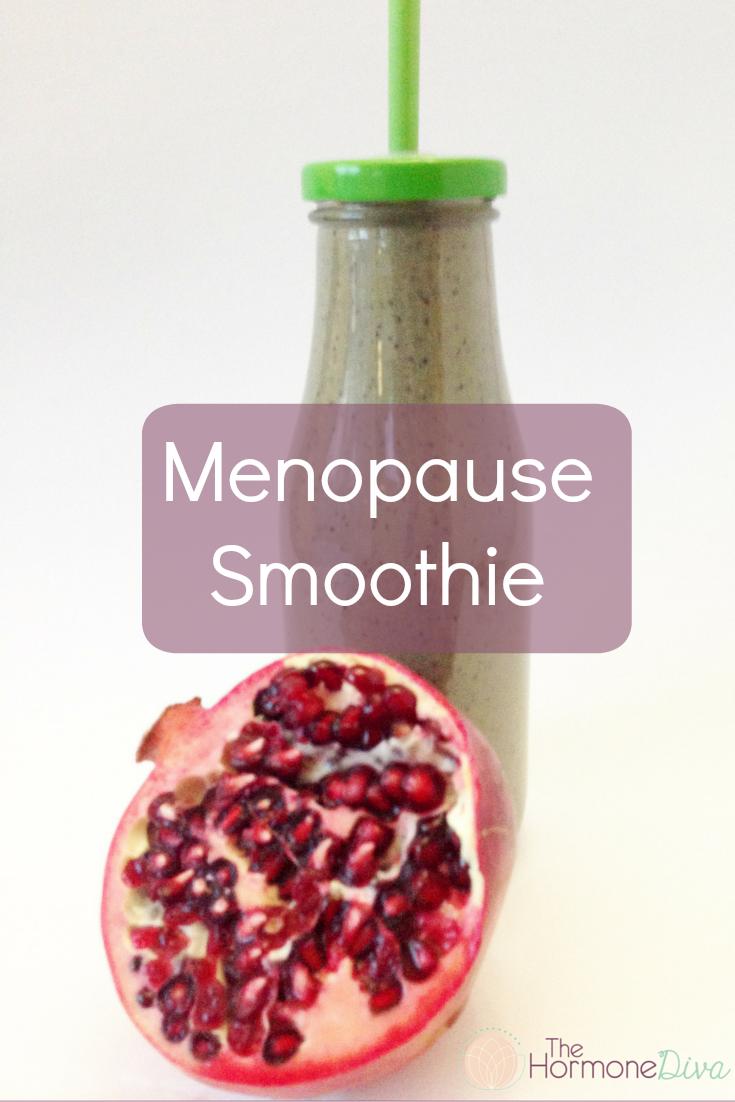 Menopause Smoothie | The Hormone Diva