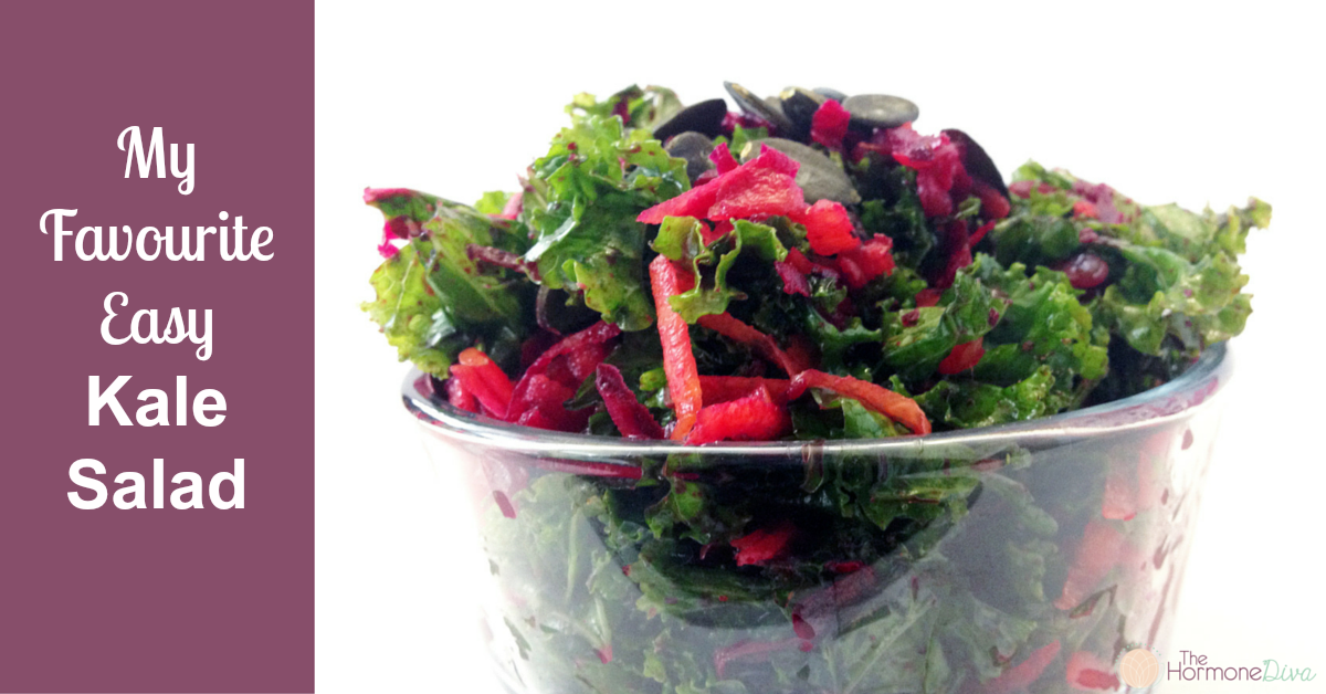 My Favourite Easy Kale Salad