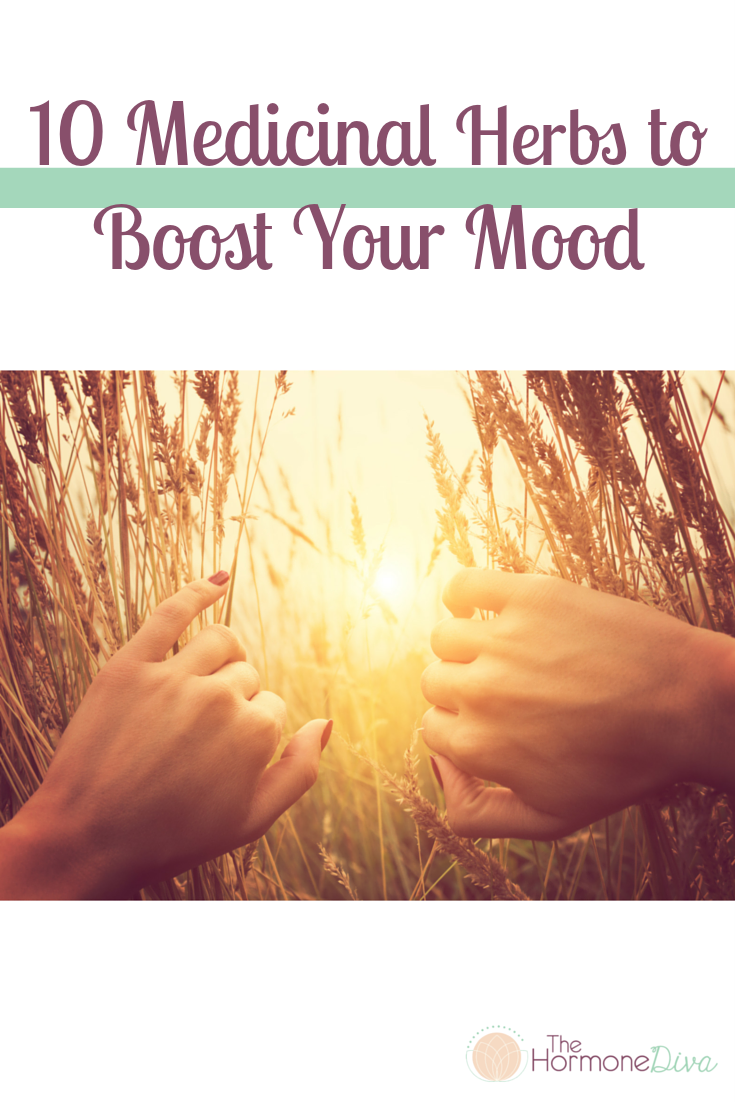 10 Medicinal Herbs to Boost Your Mood | The Hormone Diva