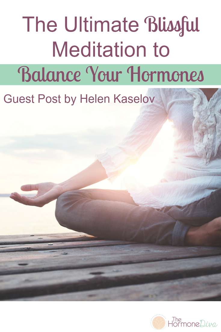 The Ultimate Blissful Meditation to Balance Your Hormones | The Hormone Diva