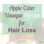 Apple Cider Vinegar Rinse for Hair Loss   The Hormone Diva