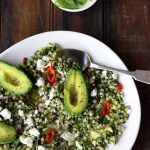 alkalising buckwheat salad the luminous kitchen