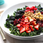 best kale summer salad the balanced berry