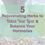 5 Rejuvenating Herbs to Detox Your Liver and Balance Your Hormones | The Hormone Diva