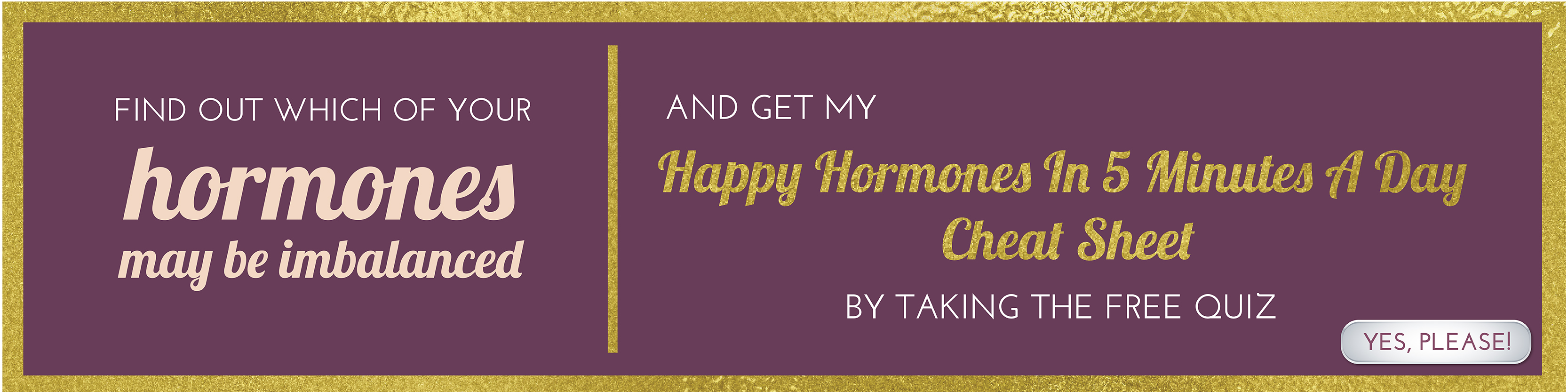 Happy Hormones Quiz | The Hormone Diva