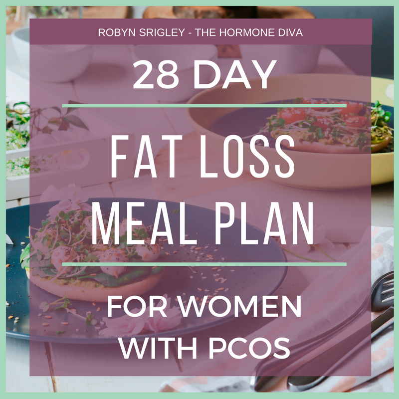 28-Day Fat Loss Meal Plan for Women with PCOS | The Hormone Diva